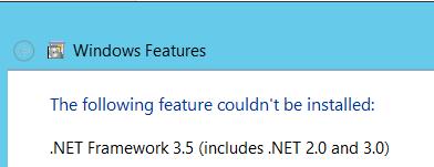 net 35 error