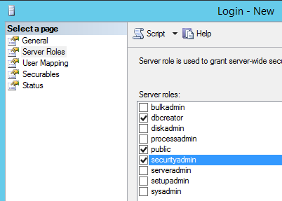sp2013 sql install account permissions