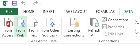 power bi import data sources data tab