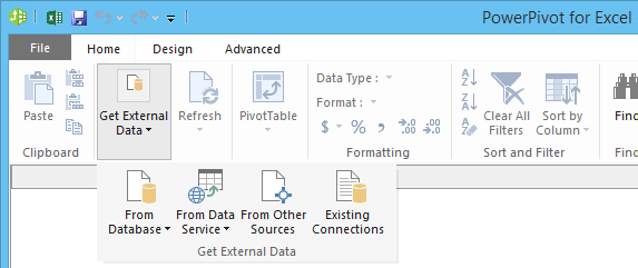 power bi import data sources powerpivot